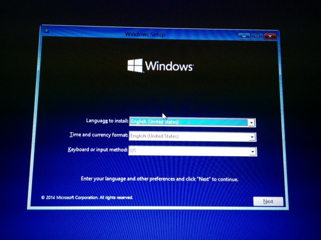 Как установить windows на