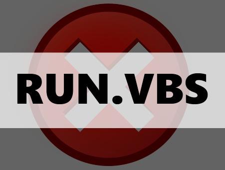 Не удается найти файл сценария c:\windows\run.vbs, что делать?