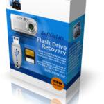 Восстановление данных с флешки с помощью SoftOrbits Flash Drive Recovery