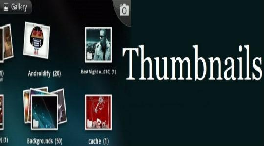 Thumbnails что это за папка
