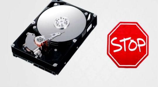 жесткий диск щелкает и не определяется фото 1