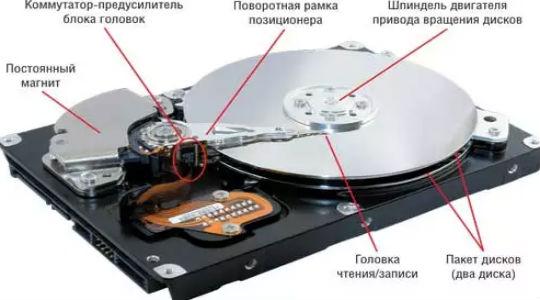 жесткий диск щелкает и не определяется фото 2