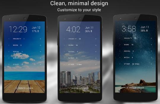 Экран блокировки Android