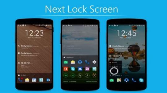 Обои на экран блокировки Андроид