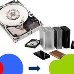 Как объединить разделы жесткого диска?