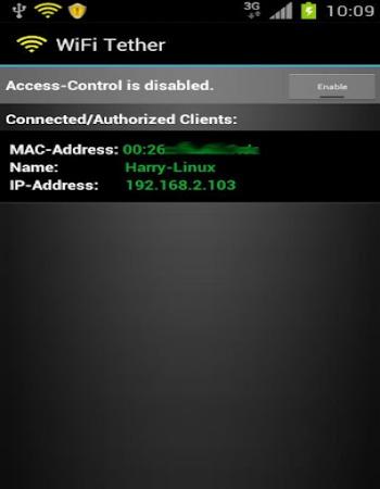 раздача интернета на телефон через wifi