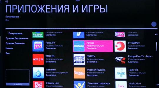 Приложения для телевизора Lg Smart TV