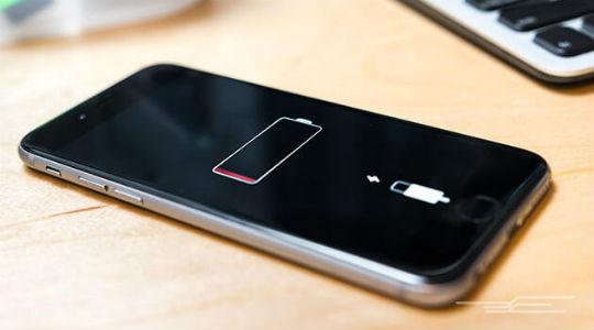 Разряжается iPhone
