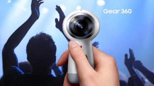 Камера Samsung Gear 360 фото 1