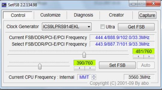 Разгон процессора Intel Core фото 2