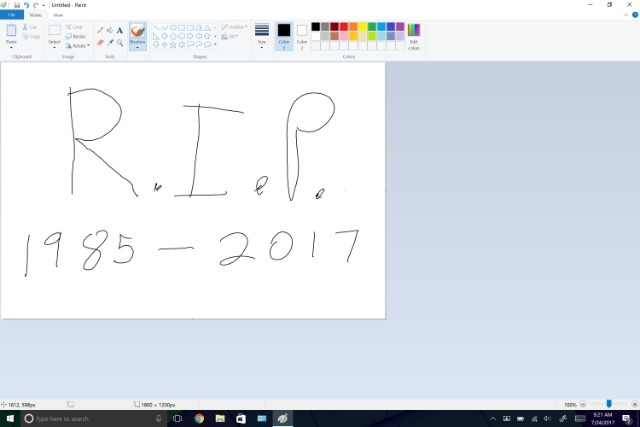 Microsoft решила отказаться от поддержки «устаревшего» Paint