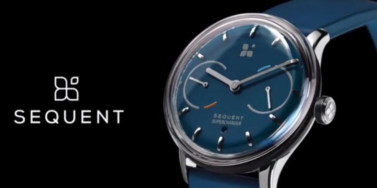 Умные швейцарские смарт-часы от Sequent, для которых не требуется подзарядка