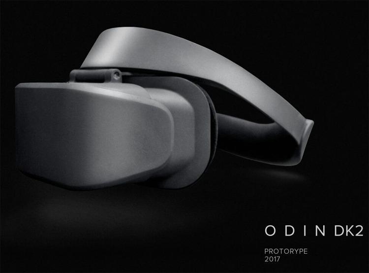 Шлем виртуальной реальности Odin DK2