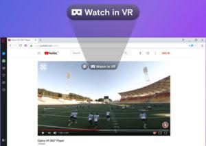 Opera Developer 49 VR-гарнитура