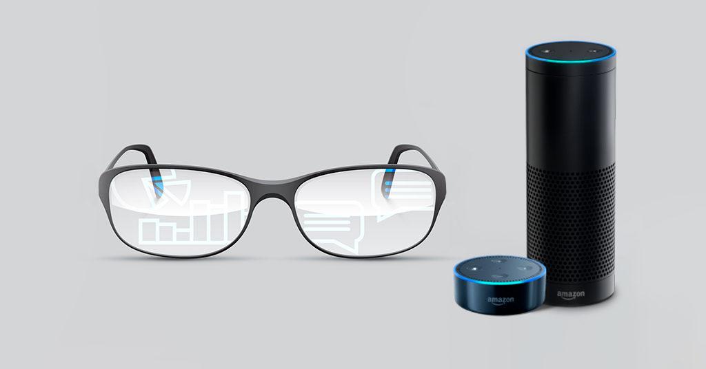 Amazon смарт-очки со встроенным помощником