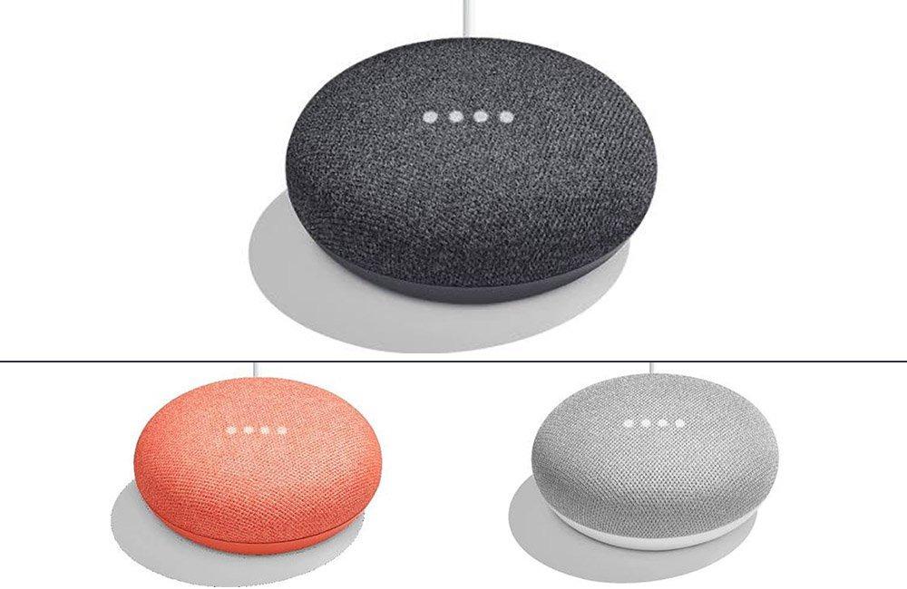Новинки Google смарт-колонки Google Home Mini фото 1