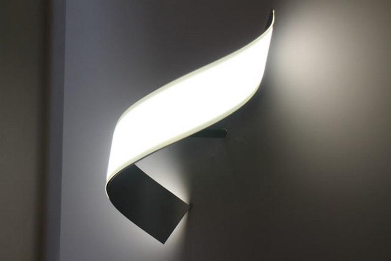Сгибающаяся лампа OLED от LG Display фото 1