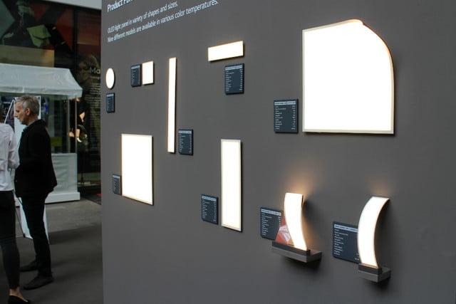 Сгибающаяся лампа OLED от LG Display фото 2