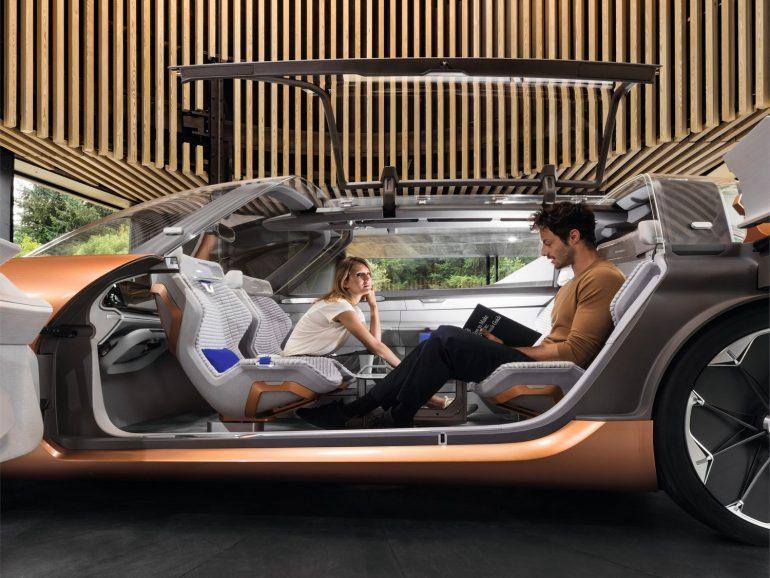 Электромобиль будущего Renault SYMBIOZ фото 12