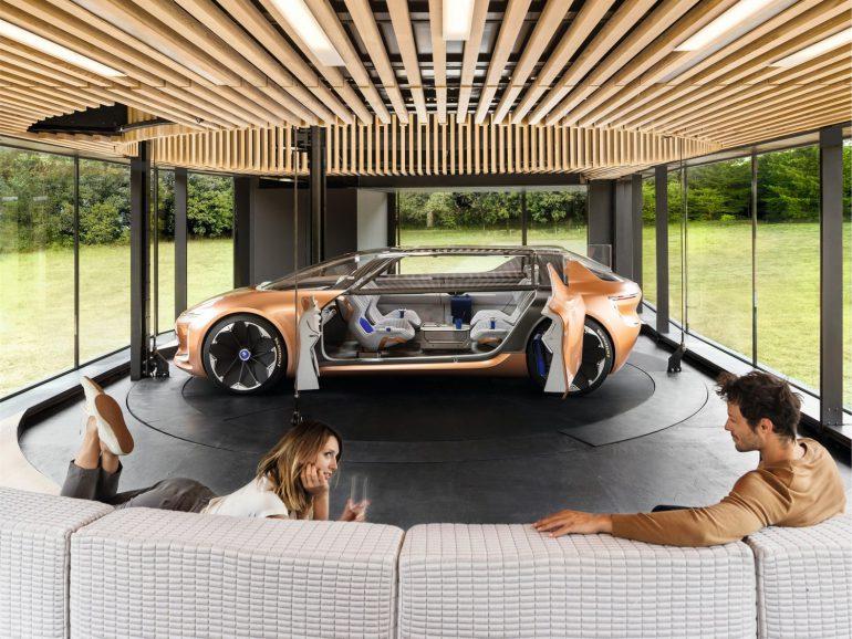 Электромобиль будущего Renault SYMBIOZ фото 14