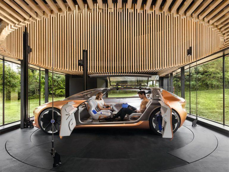 Электромобиль будущего Renault SYMBIOZ фото 15
