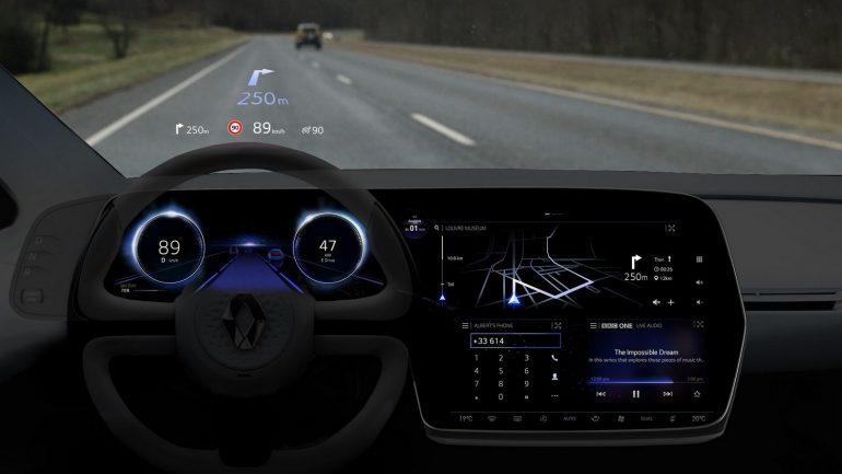 Электромобиль будущего Renault SYMBIOZ фото 16