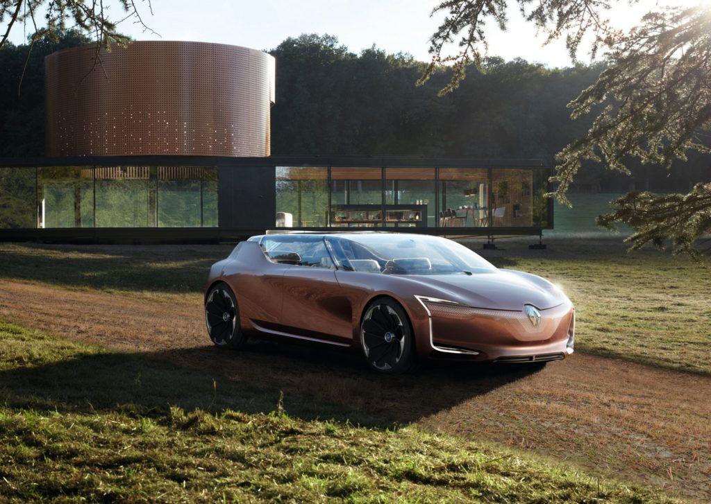 Электромобиль будущего Renault SYMBIOZ фото 1