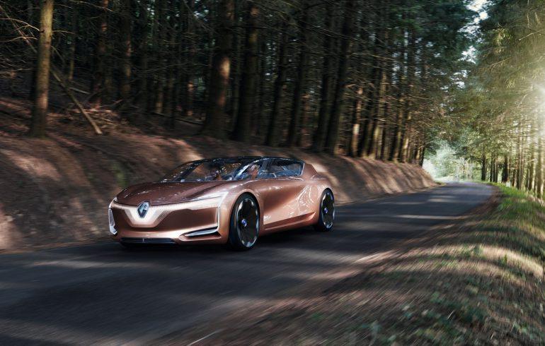 Электромобиль будущего Renault SYMBIOZ фото 2