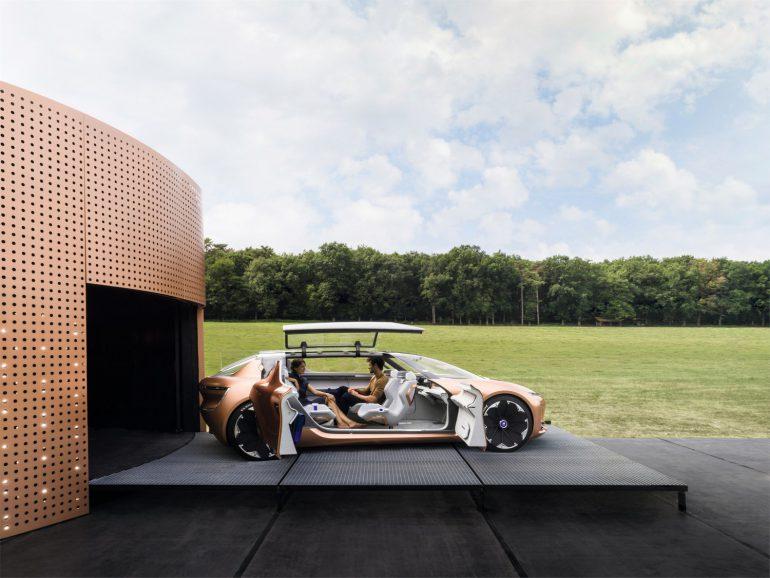Электромобиль будущего Renault SYMBIOZ фото 9