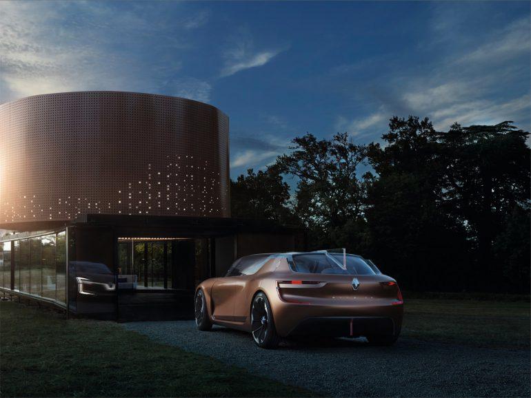 Электромобиль будущего Renault SYMBIOZ фото 10