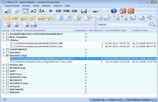 Программа для дубликатов файлов