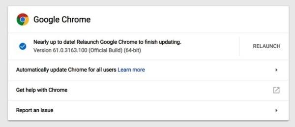 Google обновила Chrome