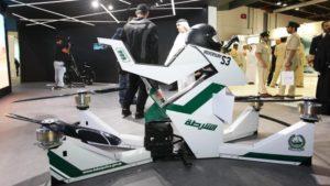 Полиция столицы ОАЭ носит Google Glass очки и тестирует летающие мотоциклы
