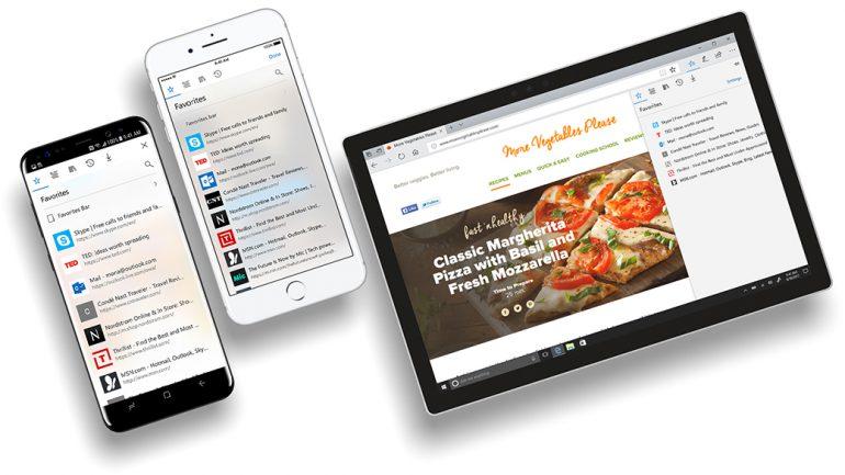 Microsoft Edge mobile фото 1