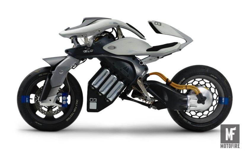 Yamaha электробайк с искусственным интеллектом фото 2