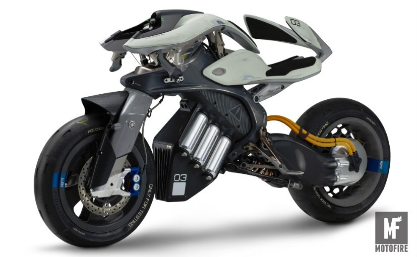 Yamaha электробайк с искусственным интеллектом фото 3