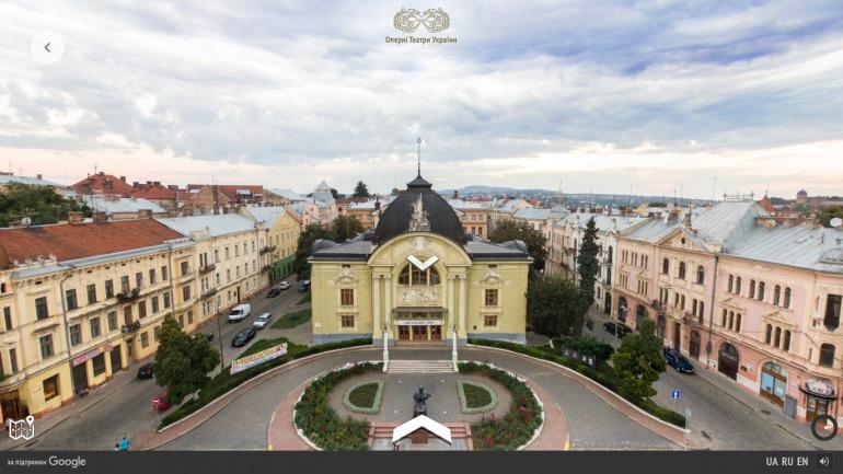 Google 3D путешествие по лучшим оперным театрам Украины фото 9