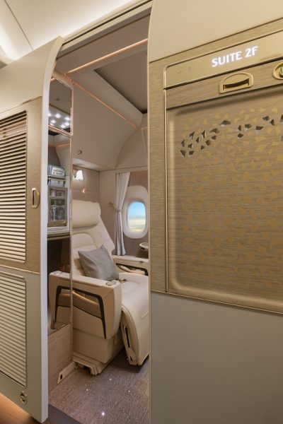 Авиакомпания Emirates VR-иллюминатор фото 2