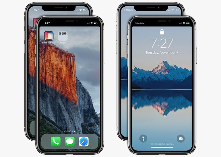 Notch Remover iPhone X