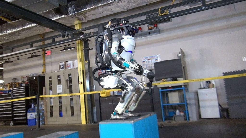 Робот Atlas Boston Dynamics