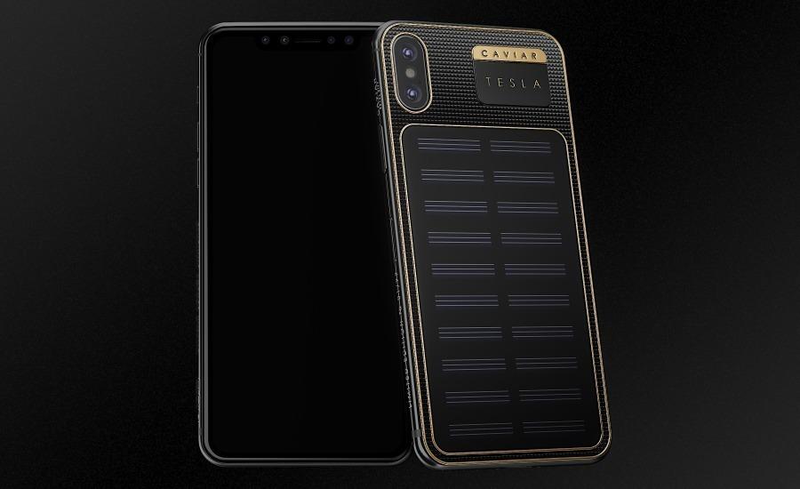 Российский самозаряжающийся iPhone X работает от солнечной энергии