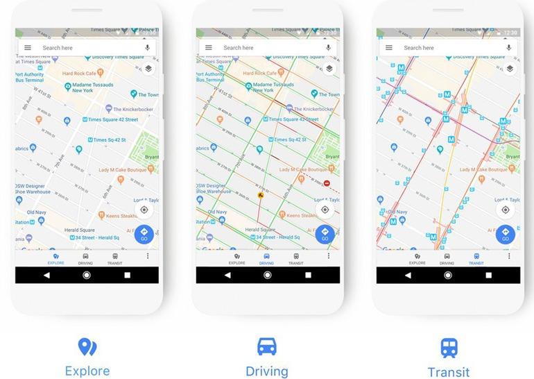 Карты Google Maps фото 2