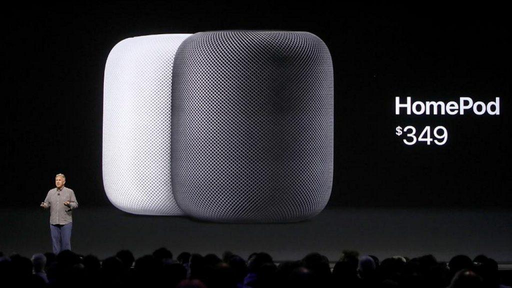 Смарт-колонка HomePod от Apple