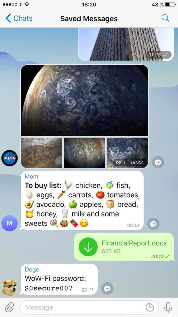 Telegram функции фото 1