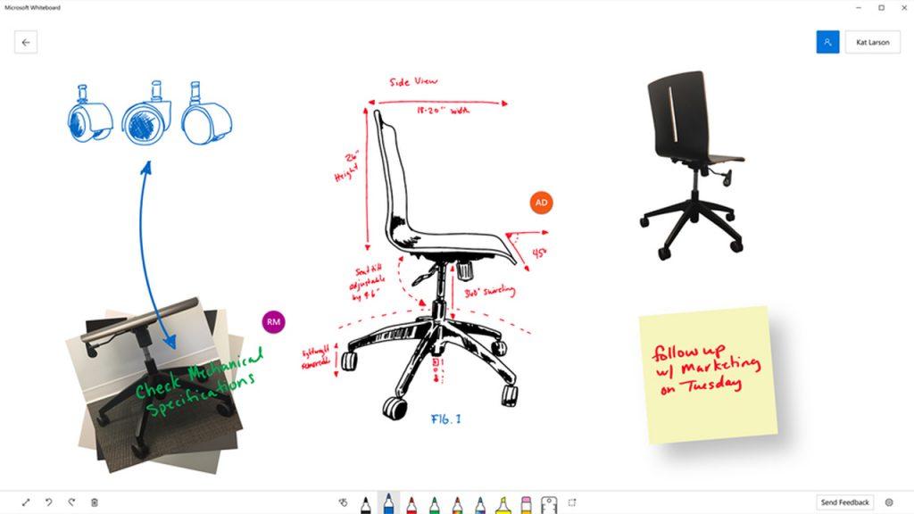Приложение Whiteboard Preview