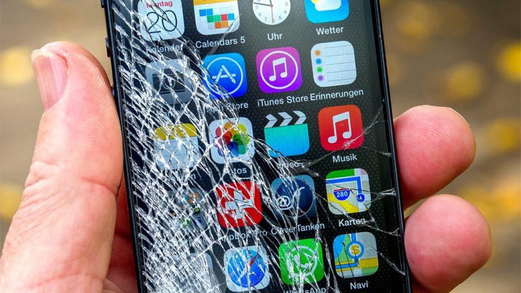 защита от растрескивания экранов смартфонов
