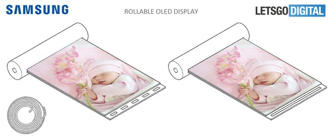 Samsung смартфон со сворачивающимся дисплеем фото 2