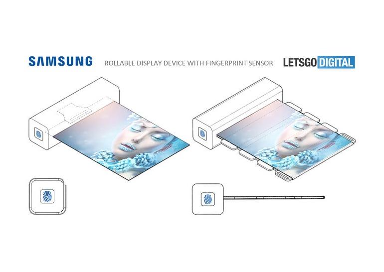 Samsung смартфон со сворачивающимся дисплеем фото 1
