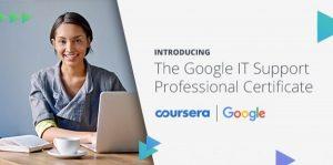 Компании Google и Coursera обучение на техподдержку