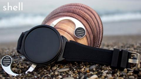Shell Чехол для смарт-часов превращает аксессуар в смартфон
